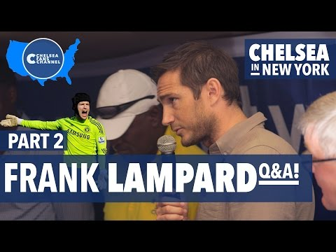 FRANK LAMPARD ON CECH TO ARSENAL! - Chelsea Fans Channel Q&A - Exclusive NYC Chat