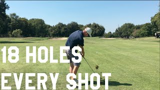 How to Play 18 Holes, Every Shot Vlog New Golf Video