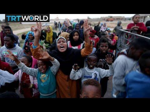 Libya Refugee Crisis: Hundreds stranded and homeless in desert