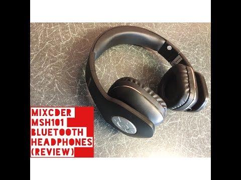 Mixcder MSH101 Bluetooth headphones (Test & Review)