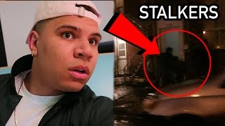 STALKER FANS TRY BREAKING IN MY HOUSE! *COPS CALLED*