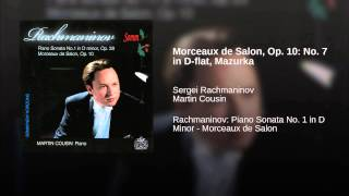 Morceaux de Salon, Op. 10: No. 7 in D-flat, Mazurka