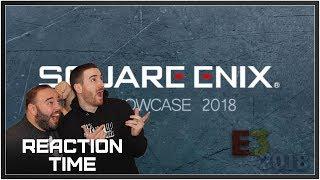 Square Enix E3 2018 Showcase - Reaction Time!