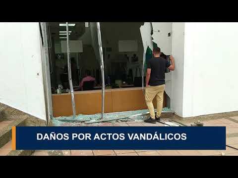 Daños por actos vandálicos