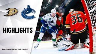 Nhl Highlights | Ducks @ Canucks 2/16/20