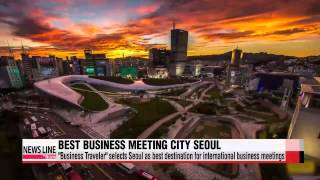 """Business Traveler"" selects Seoul as best destination for internationa"