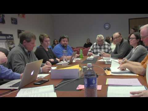 Mineral Point School Board 2.13.17