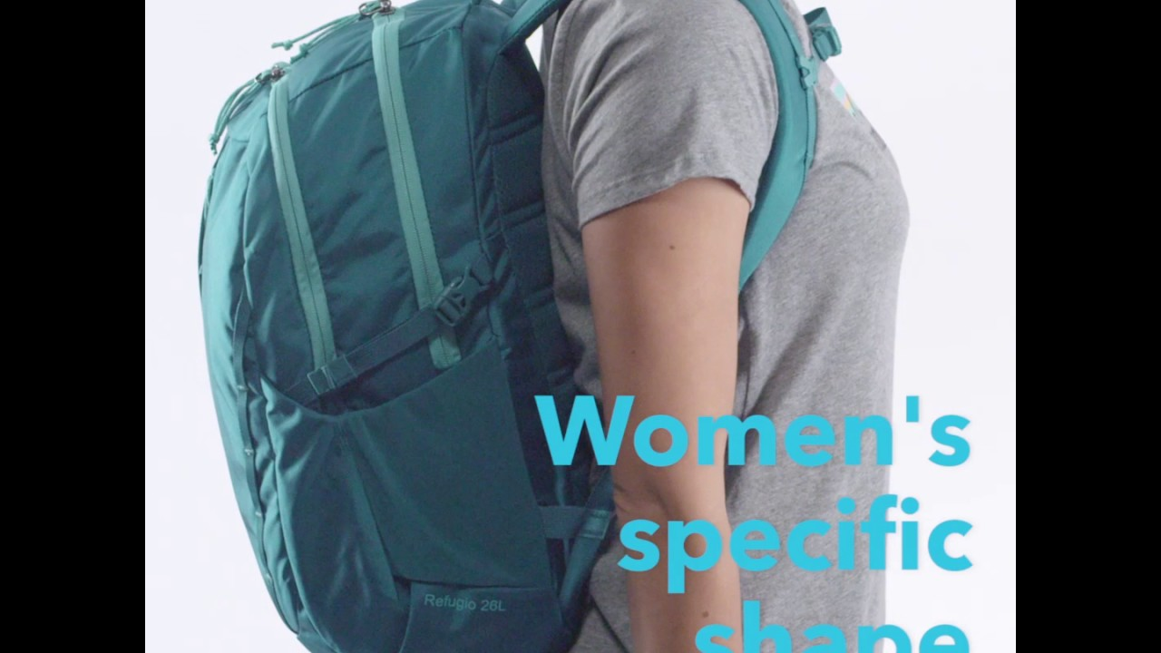 d1aa61e93b Custom Tailored for A Woman s Torso - The Patagonia Womens Refugio Pack 26L