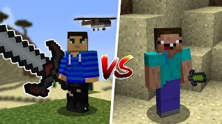 NOOB vs PRO Weapons in Minecraft