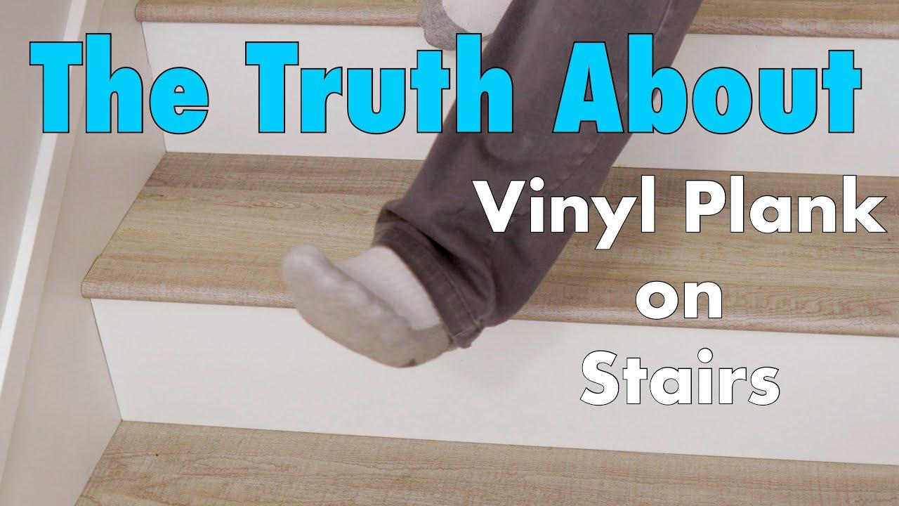 Vinyl Plank Carpet Or Hardwood Stairs, How To Install Vinyl Flooring On Steps