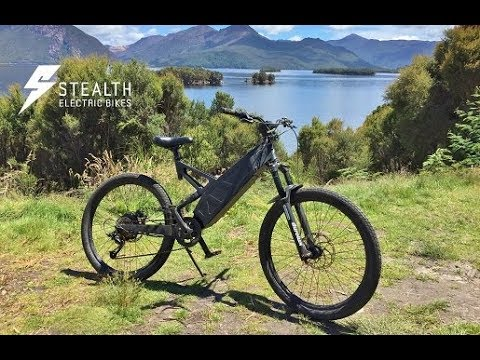 Stealth Electric Bikes - The Stealth P-7 Super Commuter