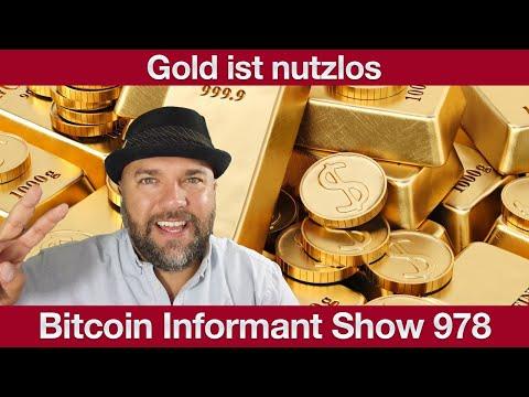 #978 Gold nutzlos ohne Rendite, Bitcoin ein Ponzi & FastBitcoins Deal mit Flexepin