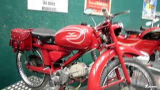 MOTOS GUZZI HISPANIA  ( EXPOSICION ANTIGUA )