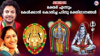 ഭക്തർ എന്നും കേൾക്കാൻ കൊതിച്ച ഹിന്ദു ഭക്തിഗാനങ്ങൾ   New Devotional Songs Malayalam