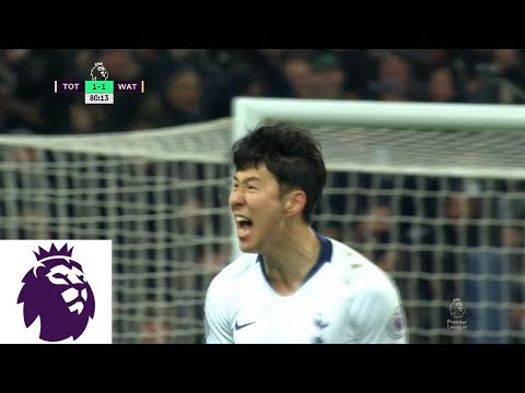 Heung-Min Son brings Tottenham level with powerful strike v. Watford | Premier League | NBC Sports