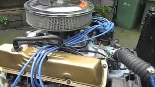 Ford 390 FE big block engine test