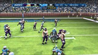 Madden 13:SHOCKING ENDING OF THE YEAR-Madden 13 ONLINE GAMEPLAY-VIKINGS Vs. LIONS