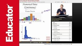 بناء & تفسير الرسوم البيانية | AP الإحصاءات