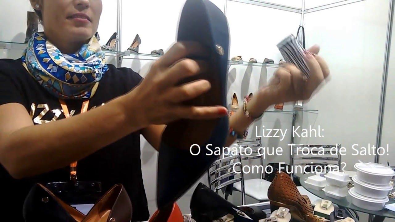 16768fa1c Lizz Kahl: O Sapato que Troca de Salto - YouTube