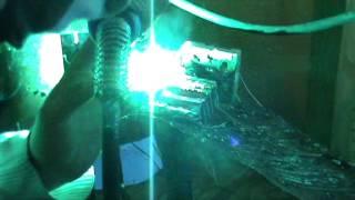 сварка алюминия в аргоне полуавтоматом ариа(Сварка алюминия 6мм проволокой 1 мм в среде аргона полуавтоматом в импульсном режиме дуги., 2013-09-30T18:47:23.000Z)