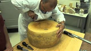Channel Cheese - How to break open a Parmesan cheese with Carlo Guffanti thumbnail