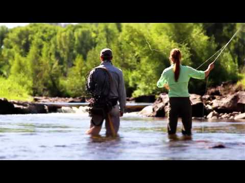Fly-Fishing, Skiing, and Snowmobiling at Three Forks Ranch