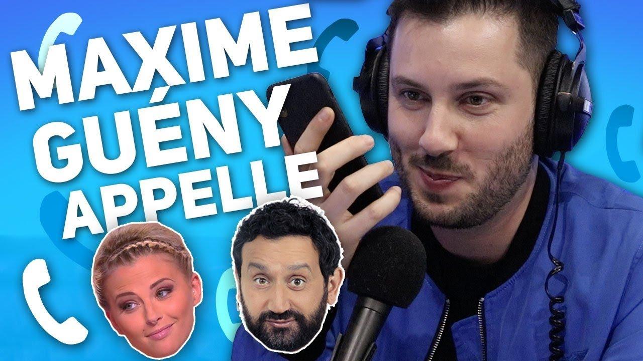 Maxime Guény appelle Cyril Hanouna et Kelly Vedovelli de Touche Pas à Mon Poste !