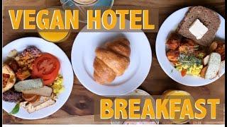 VEGAN HOTEL BREAKFAST & VEGAN SUPERMARKET IN BERLIN   VLOGMAS #6