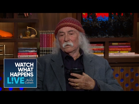 What Bugs David Crosby About Kanye West? - WWHL