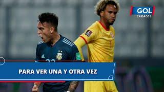Eliminatorias Sudamericanas Catar 2022 fecha 4, resumen de todos los goles