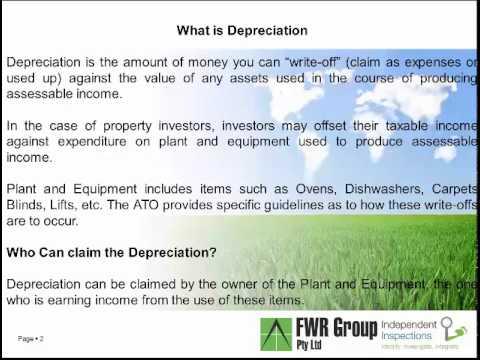 Tax Depreciation Schedules Sunshine Coast
