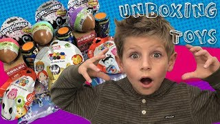 Kids Unboxing Toys $100 - Roblox Slither.io Hatchimals and More... Awesome Surprise unboxing!