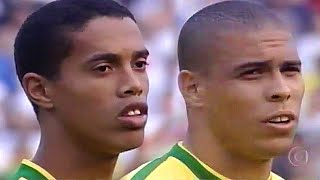 RONALDO, RONALDINHO & RIVALDO HUMILIATING ARGENTINA IN 1999 - Highlights