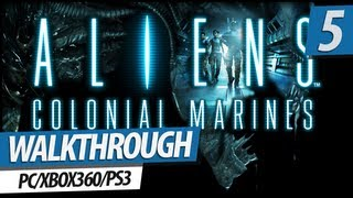 Aliens: Colonial Marines Walkthrough - Mission 5 | The Raven (Legendary Hudsons