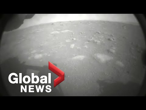 NASA's Perseverance rover successfully lands on the surface of Mars | FULL