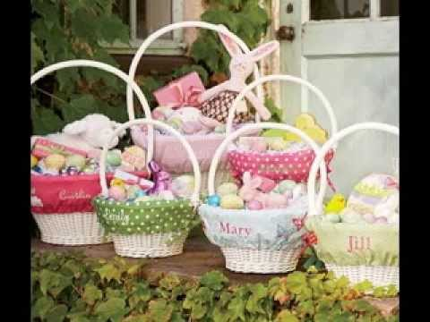Easy easter basket decorating ideas for babies youtube easy easter basket decorating ideas for babies negle Image collections