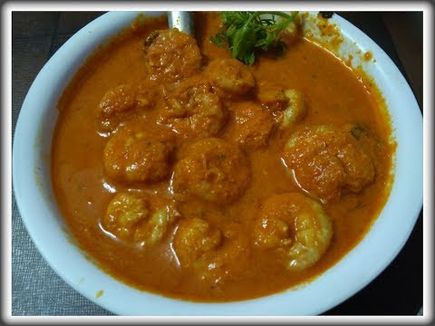 Authentic Malvani Kolambi Rassa | Malvani Prawns Curry