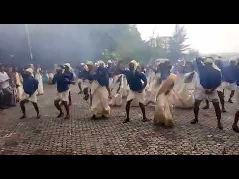 Onam celebration in Mangalore Shri Devi college-Jimki kamal