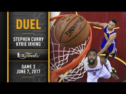 Finals Duel: Kyrie Irving vs. Stephen Curry, NBA Finals Game 3   June 7, 2017