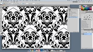 How To Create A Wallpaper Pattern | Photoshop Lessons