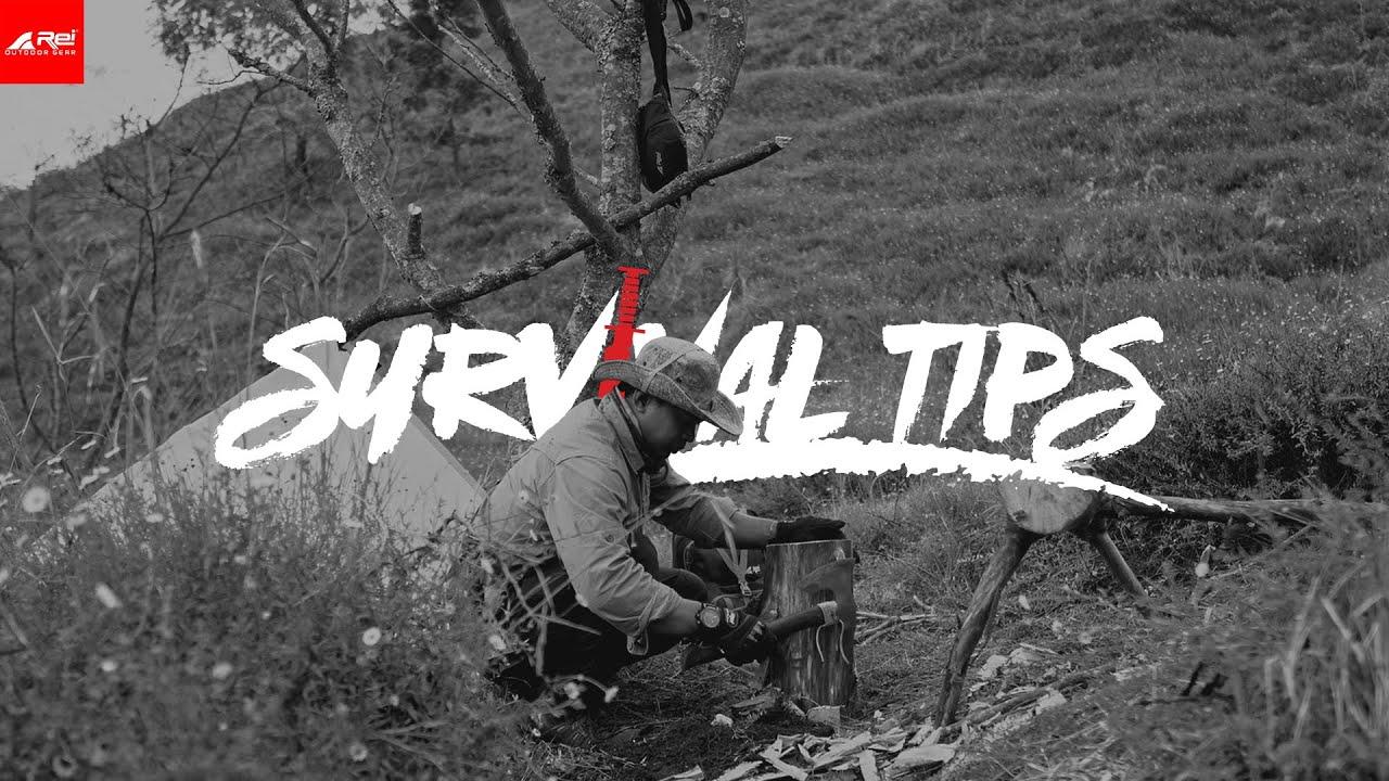 SURVIVAL TIPS - Membuat Kursi di Savana