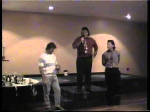 Razorbacks & Jets trophy night 1994