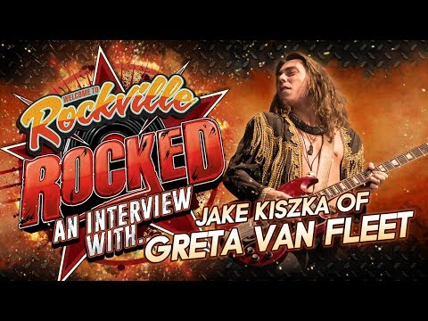 GRETA VAN FLEET's Jake Kiszka Talks New Album This Year, Advice To Young Guitarists & More | Rocked