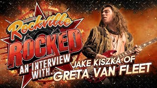 GRETA VAN FLEET's Jake Kiszka Talks New Album This Year, Advice To Young Guitarists & More | Rocked