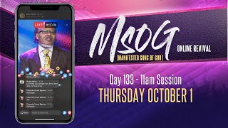 MSOG Online Revival - Day 133 - Thursday, October 1, 2020