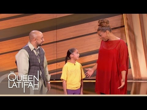 Kid Basketball Prodigy on The Queen Latifah Show