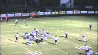 Golden Eagles Football 08 29 2015 Shelbyville vs Giles County