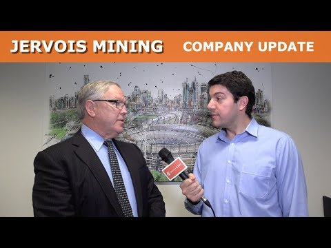 Jervois Mining company update at the annual general meeting 2019