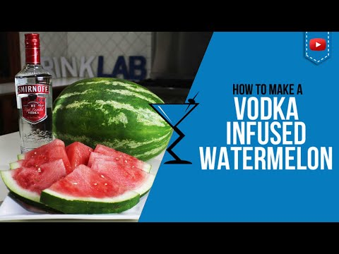 Watermelon viagra drink