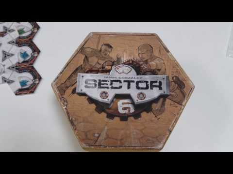 Board game review - Sector 6